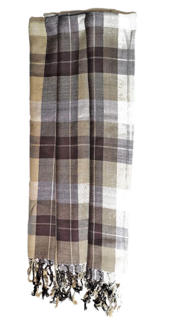 dress fabric scarves Viscose Sateen Fabric 100/% per metre /'Saluen F/'